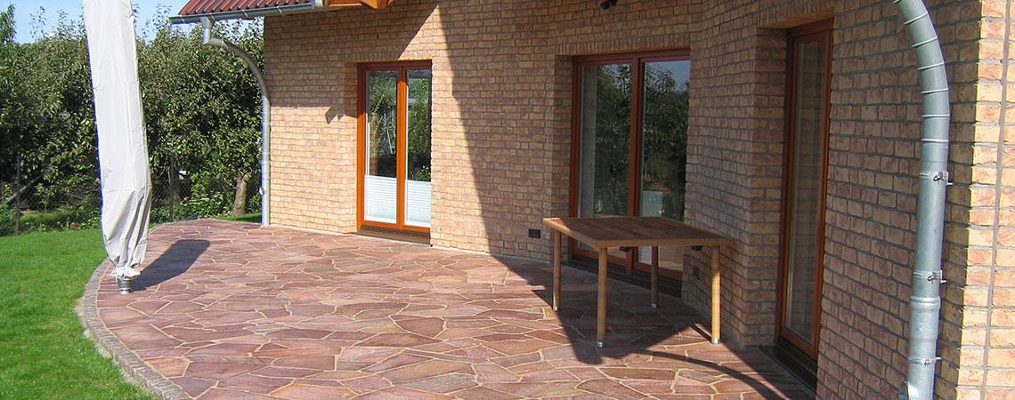 naturstein garten terrasse aus marmor granit rostock. Black Bedroom Furniture Sets. Home Design Ideas